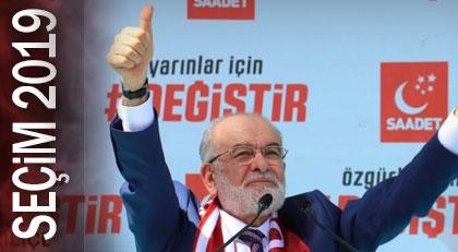 Saadet o başkanlığı istiyor