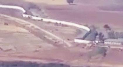 Türkiye'den Suriye'de duvar operasyonu