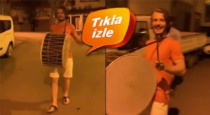 Trabzonsporlu oyuncu davulcu oldu