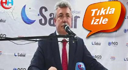 Milli Görüş toplantısında AKP'li Başkana buz kestiren sözler
