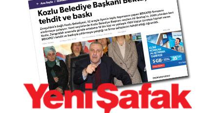 Yeni Şafak'ın AKP'li başkana neden çaktığını açıklıyoruz