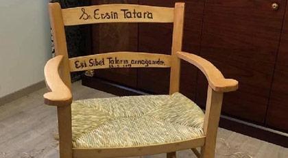 Kıbrıs'da gündem olan sandalye