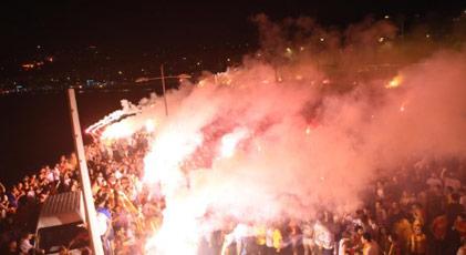 Göztepe'de festival gibi kutlama