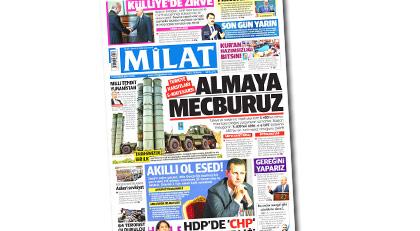 Yandaş gazete Erdoğan'ın ismini değiştirdi