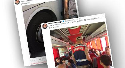 İstanbul'a gelmeye çalışan vatandaşlara akıl almaz engelleme
