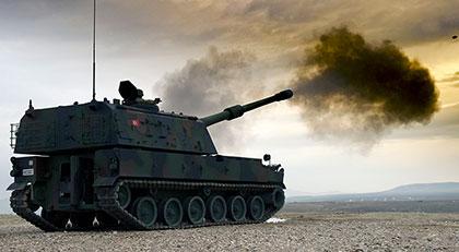 TSK Suriye ordusuna yanıt verdi