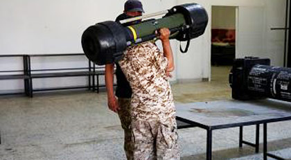 Türkiye'yi tehdit eden generalin silahları bakın nereden çıktı