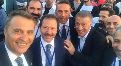 Başkanlar bir arada