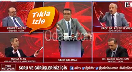 """Türk askerine """"eşek"""" diye Akit'çi yine olay çıkardı"""