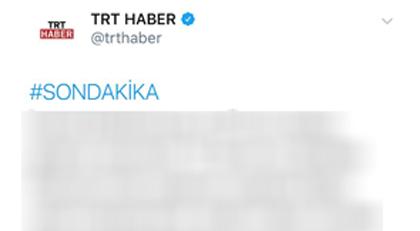 TRT nasıl böyle bir tweet atar