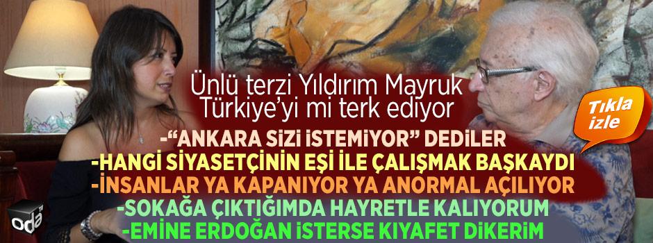 """""""Emine Erdoğan talep ederse kıyafet dikerim"""""""