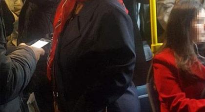Otobüste gizli fotoğrafın cezası verildi