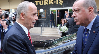 Türk-İş Başkanı'nın Erdoğan'la bilinmeyen ilişkisi