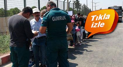 Bayramda ülkelerine giden Suriyeliler Türkiye'ye dönüyor