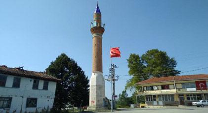Camisiz minare sembol oldu