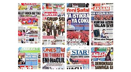 AKP'deki kırılma medyadaki taşları nasıl yerinden oynattı