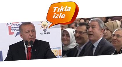 Erdoğan'ın dili fena sürçtü