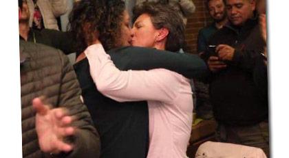 Başkente eşcinsel başkan