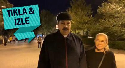 Maduro Türk sokaklarında