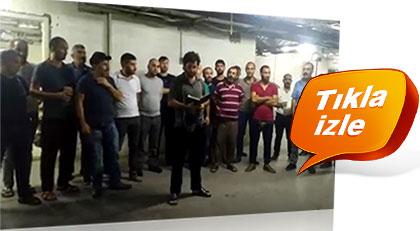 Mekke'de Türk işçilerin isyanı