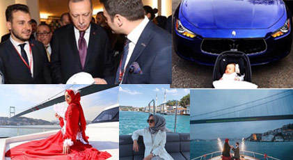 AKP'lilerin çocuklarının lüks yaşamını kare kare ifşa ettiler