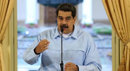 """Maduro'dan orduya """"hazır ol"""" çağrısı"""