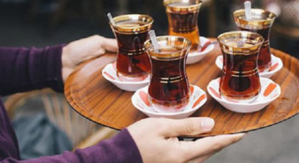 Çay ve kahve içemeyecekler