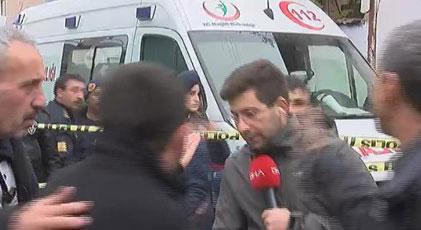 Canlı yayında gazeteciye saldıranlar hakkında karar