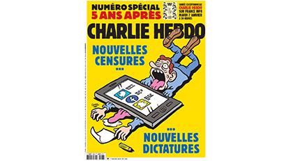 Charlie Hebdo o günü andı