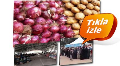 Patates ve soğan için kısıtlama kararı