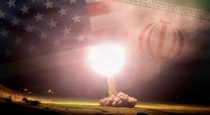 Ve İran vurmaya başladı