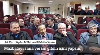 Muhtara AKP'li vekilden ağır sözler