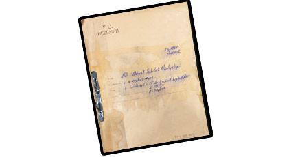 MİT arşivinden çıkan belge