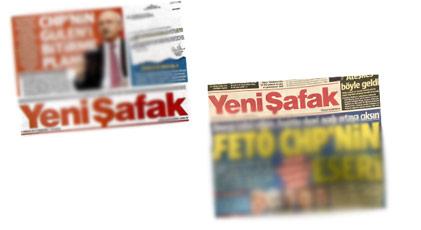 Yeni Şafak'ın CHP arşivinden ne çıktı