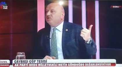 AKP milletvekilinin hedefinde AKP büyükşehir belediye başkanı var