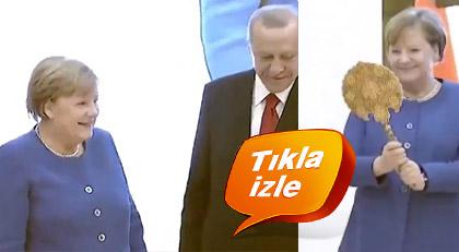 Merkel çok mutlu