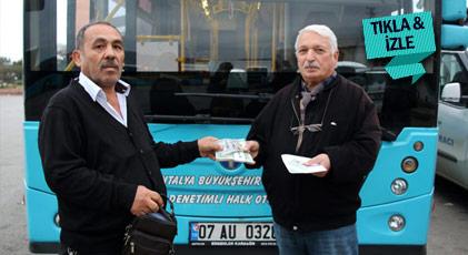 """Antalya'da """"bravo"""" dedirten hareket"""