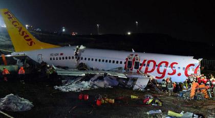 İstanbul'daki uçak kazasında tartışmaları yeniden başlatacak olay