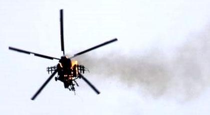 Suriye, düşen helikopterle ilgili kimi suçladı