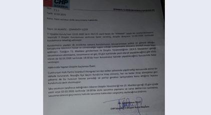 CHP'de yine disiplin tartışması