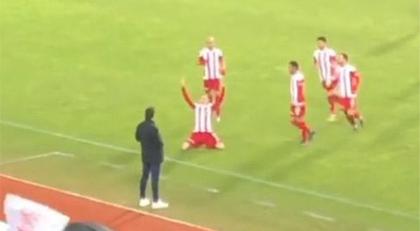 Süper Lig'te olay olan gol sevinci