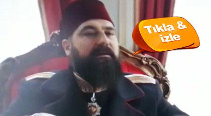 """TRT dizisinde """"harbe hazır olun"""" mesajı"""