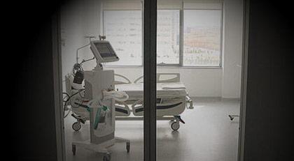 Koronavirüs hastaları burada tedavi görüyor