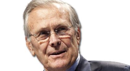 Ve ilaç Türkiye'ye geldi başrolde Rumsfeld var