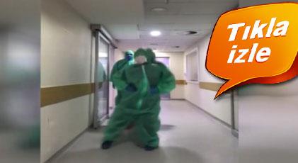 """""""Sağlık çalışanları daha ne yapsın"""" dedirten video"""