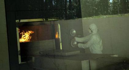 Koronadan öldü fırında yaktılar