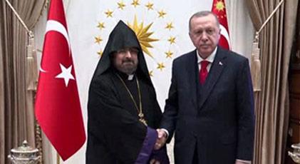 Erdoğan'dan Ermeni Patriği'ne mektup