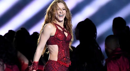 Shakira karantinayı fırsat bildi
