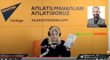 Sputnik'ten açıklama
