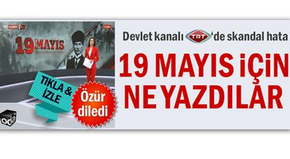 """TRT'de o """"hatanın"""" faturası kesildi"""
